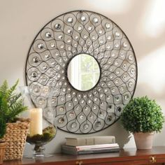 But this is very cool too!  Sunburst Bling Mirror | Kirkland's
