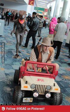 Jurassic Park Cosplay #LuLz