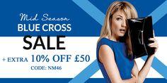 10% off £50 at Debenhams with promo code NM46. http://www.codesium.com/debenhams-discount-code/