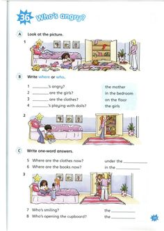 Grammar For Kids, Grammar And Vocabulary, Vocabulary Ideas, English Time, Learn English, Cambridge Starters, Cambridge Student, Cambridge English, English Activities