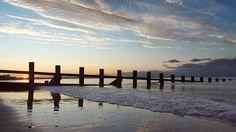 Portobello beach, on the outskirts of Edinburgh. Fabulous!