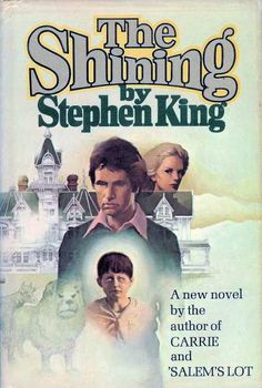 First Edition Hardback Cover of The Shining