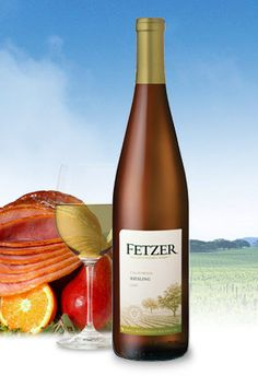 Nothing better than a yummy Reisling when the weather warms up . This Fetzer is delish. 90points
