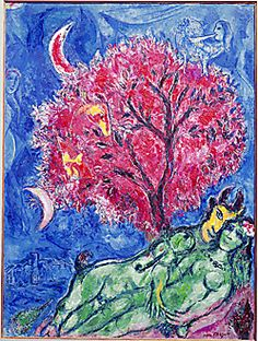The Red Tree, 1966, Marc Chagall