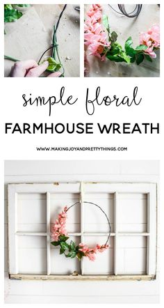 DIY wreath | farmhou