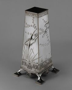 ❤ - Vase, Tiffany & Co., 1877, silver