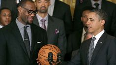 LeBron James tags President Barack Obama for ice bucket challenge to raise awareness of ALS | FOX Sports