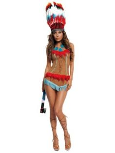 Women's Sexy Indian Princess Costume | Indians Costumes