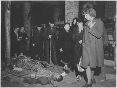 German civilians forced to view the bodies in an Ohrdruf barrack, 1945 #WWII #Holocaust