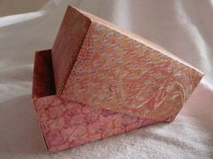 Handmade box for small cards