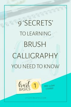 So you're want to learn brush pen calligraphy? Well, don't jump into it feet-first! To learn brush pen calligraphy, we start with the 8 basic strokes.