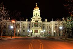 Wyoming State Capitol, Cheyenne, Wyoming ... I worked in here for a while....
