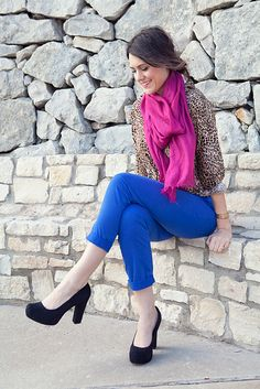 great way to style a leopard shirt