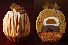 """ホテルニューオータニの「パティスリーSATSUKI」からは、秋の風物詩""""スーパーモンブラン""""が今年も登場! 兵庫県三田産の銀寄種をはじめ、その時期もっとも美味しい和栗を厳選したマロンペーストに、和栗の自然な甘さを引き立たせるアーモンドミルクシャンティ。さらに、ケーキの中には葛餅の水ようかん、自家製の黒蜜とあんこというサプライズ。一層一層、緻密に計算された最高峰のモンブランに感動! ホテルニューオータニ パティスリーSATSUKI 住所:東京都千代田区紀尾井町4-1 ザ・メイン ロビィ階 期間:~2018年1月31日(水) 営業時間:11:00~21:00 tel.03-3221-7252(パティスリーSATSUKI直通)"""
