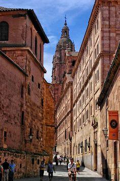 Salamanca / Architecture Calle de la compañía.