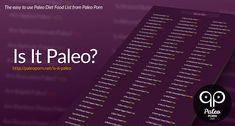 Is it paleo ???
