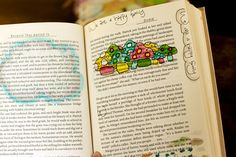 Doodling with Copics in my Scrap Journal by Noell, via Flickr