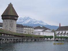 Chapel Bridge, Lucern Switzerland