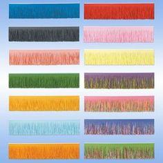 tissue fringe drape $6 + shipping for 10 feet