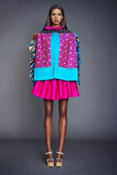 Duro Olowu - Spring 2014  Check out more here: http://bit.ly/PxYQL5