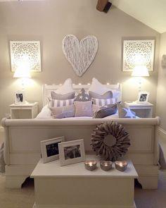 Love the cushions … – Dream Bedroom – Bedroom Ideas Dream Bedroom, Girls Bedroom, Master Bedroom, Bedroom Inspo, Home Decor Bedroom, Bedroom Ceiling, Bedroom Ideas, My New Room, Beautiful Bedrooms
