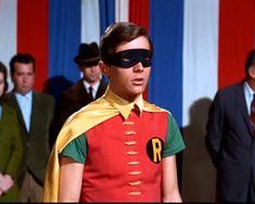 """Batman, Episode 6 - Batman is Riled 50 years ago today. """"Batman is Riled,"""" the sixth episode of the Batman TV series, premier. Batman Batcave, Batman 1966, Batman And Superman, Batman Comics, Dc Comics, Nightwing, Batgirl, Catwoman, Supergirl"""
