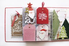 Ali Edwards Design Inc. Christmas Journal, Christmas Scrapbook, Christmas Projects, December Daily, Scrapbooking Layouts, Scrapbook Pages, Mini Albums, Bff Birthday Gift, Diy Crafts For Girls