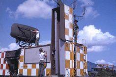 1MOB crew adjusting ASR and PAR antennas Nha Trang SVN July 1963 http://usafflightcheck.com  https://www.facebook.com/USAF.Flight.Check