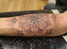 Sacred Geometry Sunflower Tattoo Nyc sacred geometry