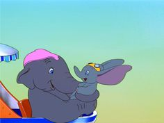 Day 30...Favorite happy ending: Dumbo. He gets to finally reach his dream of flying and gets to hug his mom.