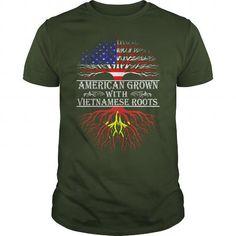 AMERICAN GROW VIETNAMESE ROOTS T-SHIRTS, HOODIES, SWEATSHIRT (19$ ==► Shopping Now)