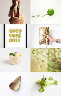 Good Vibes Only by Iva Pevalek on Etsy--Pinned with TreasuryPin.com