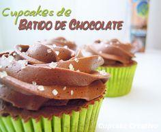 Cupcakes de Batido de Chocolate!! - Cupcake Creativo