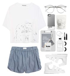 """Fashion assistant!!!"" by lucky-luci ❤ liked on Polyvore featuring Madewell, Vince, Wildfox, Sparco, Case Scenario, Dr. Martens, H&M, Ron Dorff, Chanel and Kate Spade"