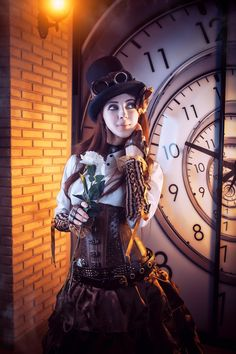 Super Ideas For Fashion Diy Steampunk Chat Steampunk, Mode Steampunk, Style Steampunk, Steampunk Couture, Steampunk Cosplay, Victorian Steampunk, Steampunk Clothing, Steampunk Fashion, Fashion Goth