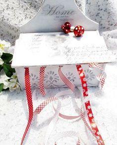 ~*~Shabby Utensilo Bänder Kistchen ~*~  von Midos -Art auf DaWanda.com