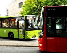 Waste-powered buses in Oslo