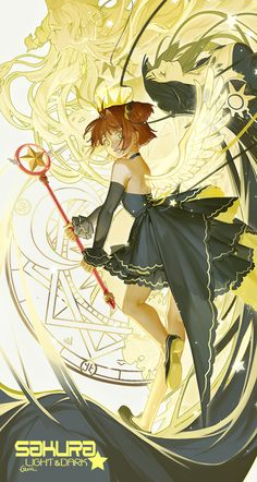 Sakura - The Dark card & The Light card