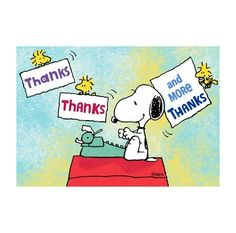 snoopy thanksgiving thank you notes - Google Search