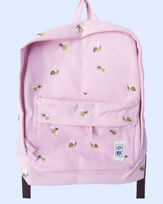 Bee Embroidery Back Pack suggested by Karla Heredia