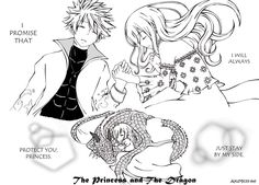 The Princess and The Dragon (NaLu doujin) by AyuMichi-me on DeviantArt