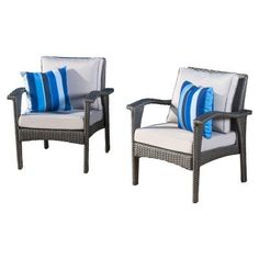 Best Selling Home Decor Furniture Diana 3 Piece Outdoor Club Chair Set - 296725