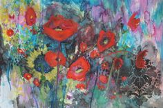 Bouquet of Poppies, Annie Flynn