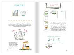 The Visual MBA Sketchnotes by Jason Barron — Kickstarter | With this book you will learn how to come up with great ideas, launch a startup, connect with customers, read financial statements, motivate employees, advance your career, and much more.