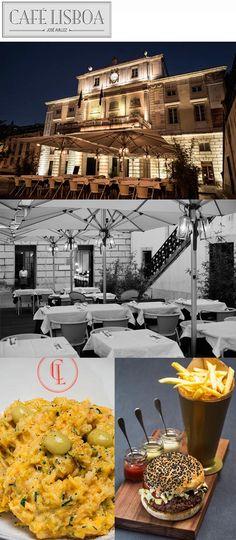 Para comer em Portugal: Café Lisboa. Não deixe de experimentar o Bacalhau à Brás com Azeitonas explosivas.