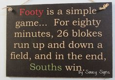Simple Game South Sydney Retro Rugby League Sign Souths Rabbitohs Bar Shed BBQ Rabbits In Australia, Bar Shed, Rugby League, Sydney, Bbq, Signs, Retro, Games, Simple