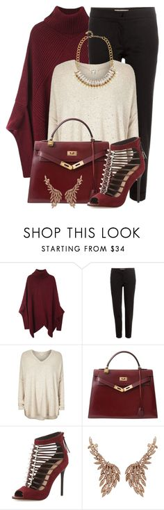 """""""#555"""" by joanaraquelgt ❤ liked on Polyvore featuring Etro, River Island, Hermès, L.A.M.B., Sutra Jewels and Adele Marie"""