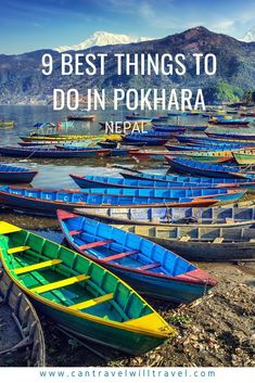 Pokhara, is laid-back, spiritually rejuvenating, and full of activities for every type of traveller. Read on for the 9 of the best things to do in Pokhara. #Pokhara #PokharaNepal #Nepal #AnnapurnaCircuit #WildlifeandNature #SouthAsia #VisitNepal #CanTravelWillTravel