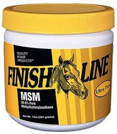 Finish Line Pure MSM, Size: 4 lb by Finish Line. $32.99