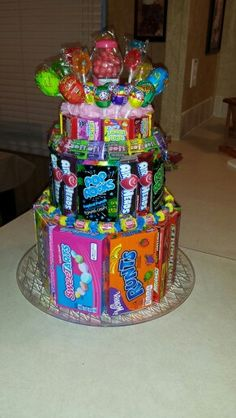 Teen Birthday Party Ideas On Pinterest Candy Cakes